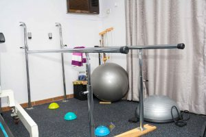 equipment in physical therapy clinic